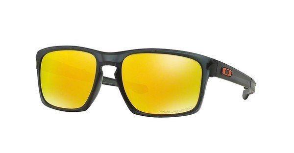 Oakley Herren Sonnenbrille »SLIVER F OO9246« in 924606 - grau/gelb