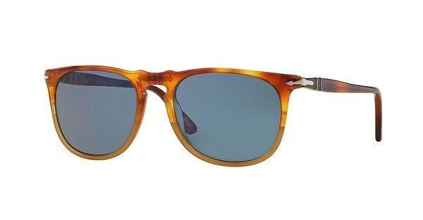 Persol Herren Sonnenbrille » PO3113S« in 102556 - braun/blau