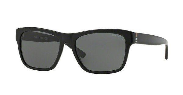 Burberry Herren Sonnenbrille » BE4194« in 300187 - schwarz/grau