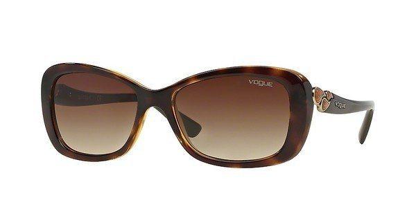 Vogue Damen Sonnenbrille » VO2917S« in W65613 - braun/braun