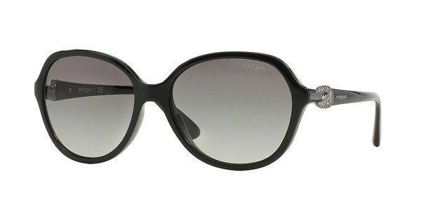 Vogue Damen Sonnenbrille » VO2916SB« in W44/11 - schwarz/grau