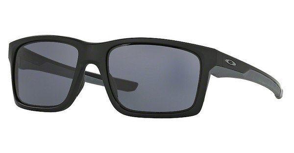 Oakley Herren Sonnenbrille »MAINLINK OO9264«, schwarz, 926435 - schwarz/rot