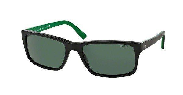 Polo Herren Sonnenbrille » PH4076« in 526171 - schwarz/grün