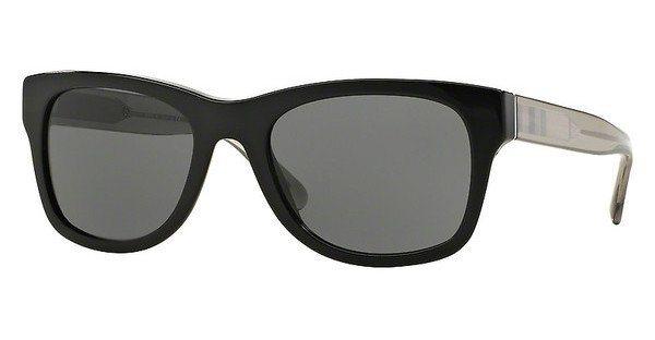 Burberry Herren Sonnenbrille » BE4211« in 300187 - schwarz/grau