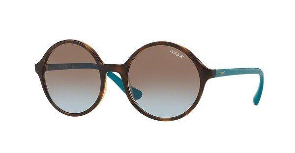 Vogue Damen Sonnenbrille » VO5036S« in W65648 - braun/braun