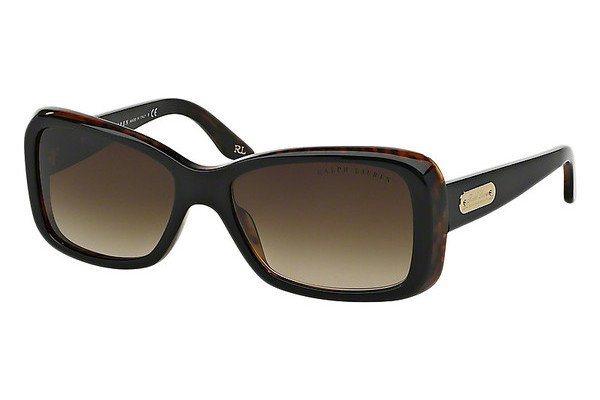 Ralph Lauren Damen Sonnenbrille » RL8066« in 526013 - schwarz/braun
