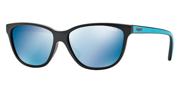 Vogue Damen Sonnenbrille » VO2729S« in W44/55 - schwarz/blau