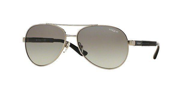 Vogue Damen Sonnenbrille » VO3997S« in 323/11 - silber/grau