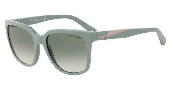 Emporio Armani Damen Sonnenbrille » EA4070« in 55128E - grau/grün