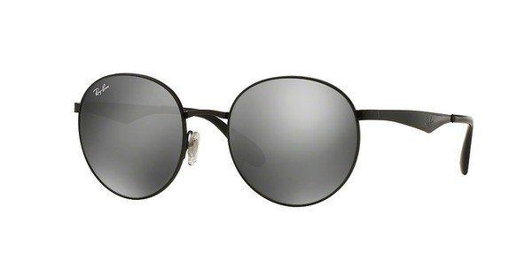 RAY-BAN Herren Sonnenbrille » RB3537« in 002/6G - schwarz/silber