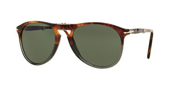 Persol Herren Sonnenbrille » PO9714S« in 102331 - braun/grün