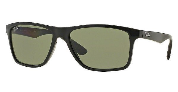 RAY-BAN Herren Sonnenbrille » RB4234« in 601/9A - schwarz/grün