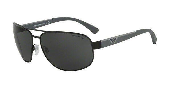 Emporio Armani Herren Sonnenbrille » EA2036«, grau, 31306G - grau/schwarz
