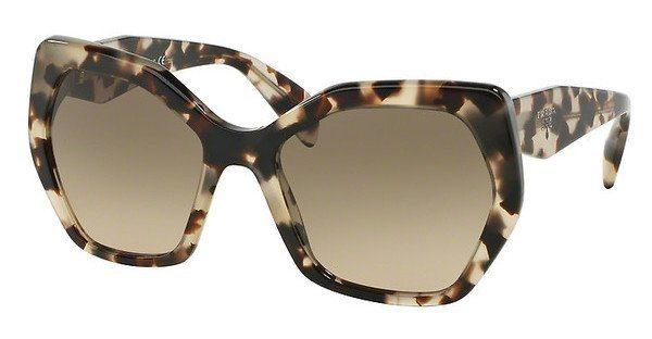 PRADA Prada Damen Sonnenbrille » PR 16RS«, braun, UAO3D0 - braun/ grau