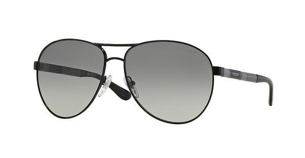 Vogue Damen Sonnenbrille » VO3977S« in 352/11 - schwarz/grau