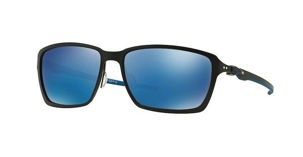 Oakley Herren Sonnenbrille »TINCAN CARBON OO6017« in 601704 - schwarz/blau