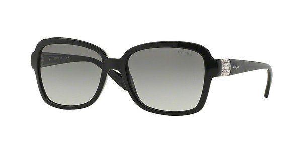 Vogue Damen Sonnenbrille » VO2942SB« in W44/11 - schwarz/grau
