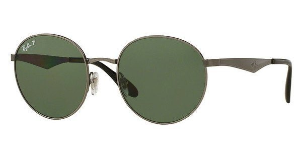 RAY-BAN Herren Sonnenbrille » RB3537« in 004/9A - grau/grün