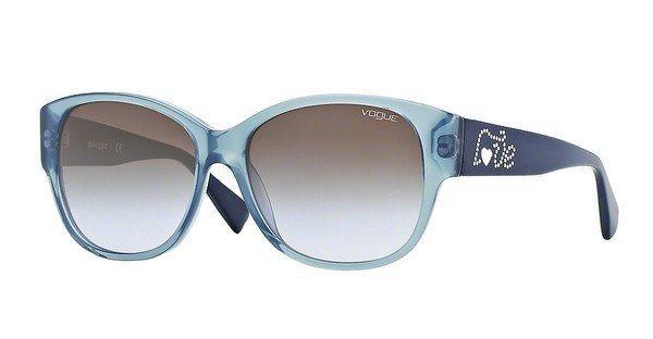 Vogue Damen Sonnenbrille » VO2869SB« in 219811 - blau/grau