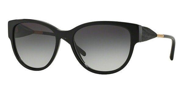 Burberry Damen Sonnenbrille » BE4190« in 30018G - schwarz/grau