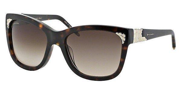 Bvlgari Damen Sonnenbrille » BV8134K« in 504/13 - braun/braun