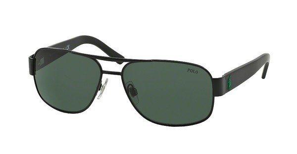 Polo Herren Sonnenbrille » PH3080« in 903871 - schwarz/ grün