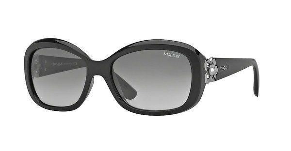 Vogue Damen Sonnenbrille » VO2846SB« in W44/11 - schwarz/grau