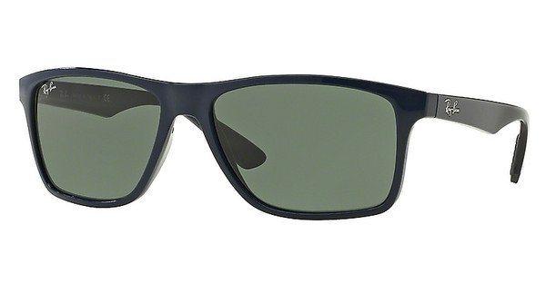 RAY-BAN Herren Sonnenbrille » RB4234« in 619771 - blau/grün