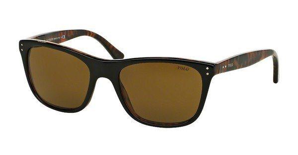 Polo Herren Sonnenbrille » PH4071« in 538373 - schwarz/braun