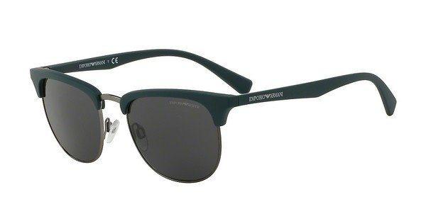 Emporio Armani Herren Sonnenbrille » EA4072« in 550087 - schwarz/grau