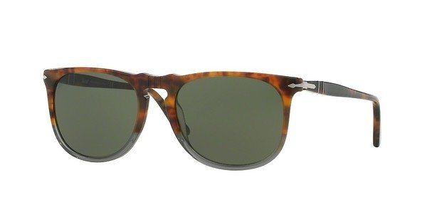Persol Herren Sonnenbrille » PO3113S« in 102331 - braun/grün