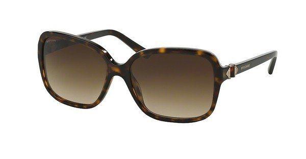 Bvlgari Damen Sonnenbrille » BV8150B« in 504/13 - braun/braun