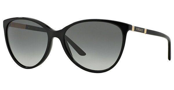 Versace Damen Sonnenbrille » VE4260« in GB1/11 - schwarz/grau