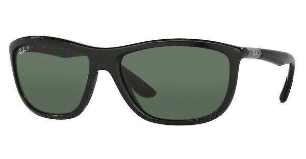 RAY BAN RAY-BAN Herren Sonnenbrille » RB8351«, schwarz, 62199A - schwarz/grün