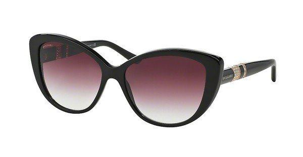 Bvlgari Damen Sonnenbrille » BV8151B« in 501/8H - schwarz/lila