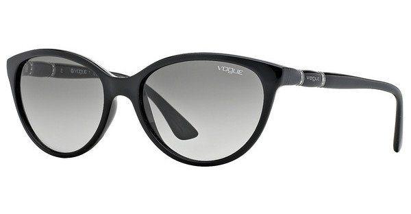 Vogue Damen Sonnenbrille » VO2894SB« in W44/11 - schwarz/grau