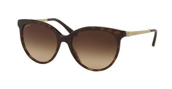 Bvlgari Damen Sonnenbrille » BV8161B« in 504/13 - braun/braun