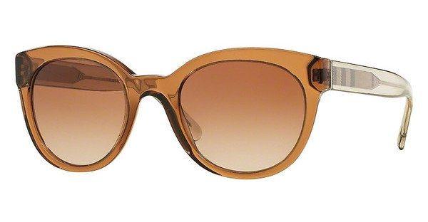Burberry Damen Sonnenbrille » BE4210« in 356413 - braun/braun