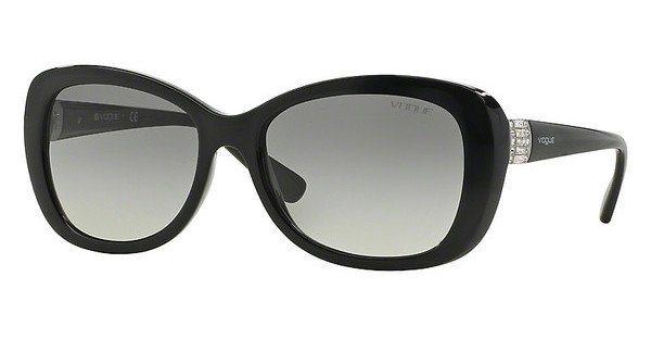 Vogue Damen Sonnenbrille » VO2943SB« in W44/11 - schwarz/grau