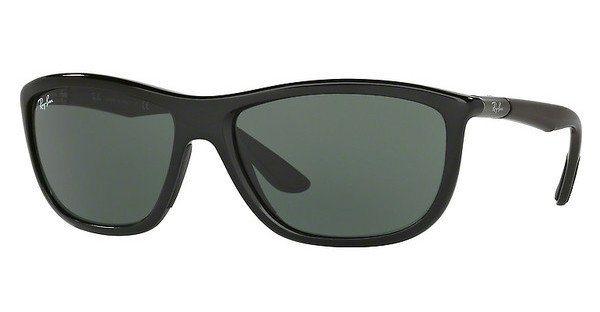 RAY-BAN Herren Sonnenbrille » RB8351« in 621971 - schwarz/grün