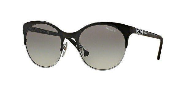 Vogue Damen Sonnenbrille » VO4006S« in 352/11 - schwarz/grau