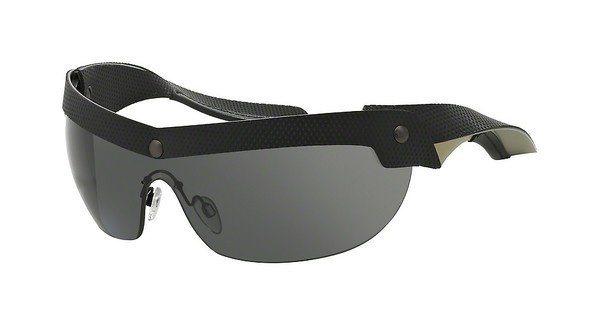 Emporio Armani Herren Sonnenbrille » EA4021« in 513787 - schwarz/grau