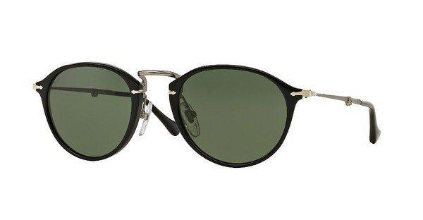 Persol Herren Sonnenbrille » PO3075S« in 95/31 - schwarz/grün