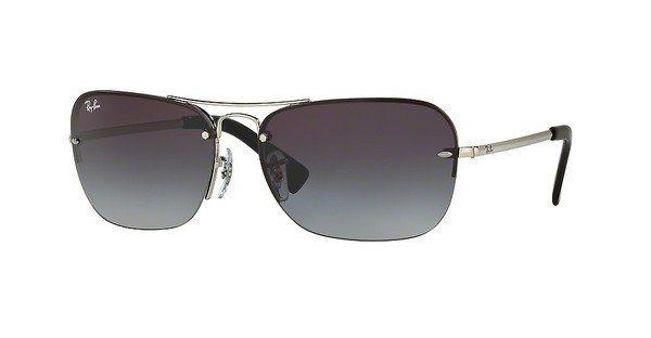 RAY-BAN Herren Sonnenbrille » RB3541« in 003/8G - silber/grau