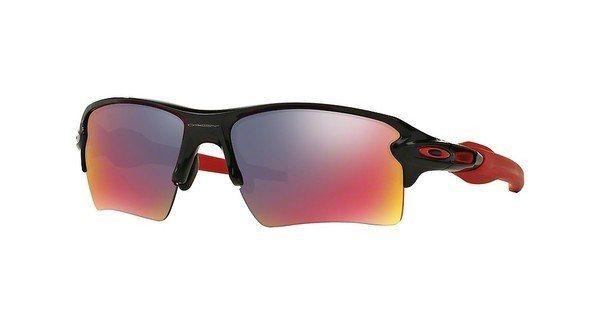 Oakley Herren Sonnenbrille »FLAK 2.0 XL OO9188« in 918824 - schwarz/ grau