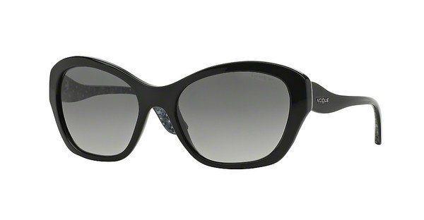 Vogue Damen Sonnenbrille » VO2918S« in W44/11 - schwarz/grau