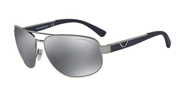 Emporio Armani Herren Sonnenbrille » EA2036« in 30106G - grau/schwarz