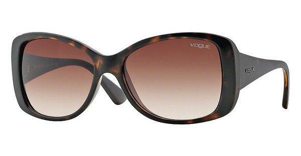 Vogue Damen Sonnenbrille » VO2843S« in W65613 - braun/braun