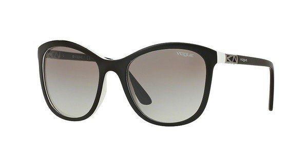 Vogue Damen Sonnenbrille » VO5033S« in 238911 - schwarz/grau