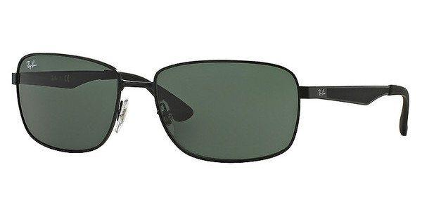 RAY-BAN Herren Sonnenbrille » RB3529« in 006/71 - schwarz/grün